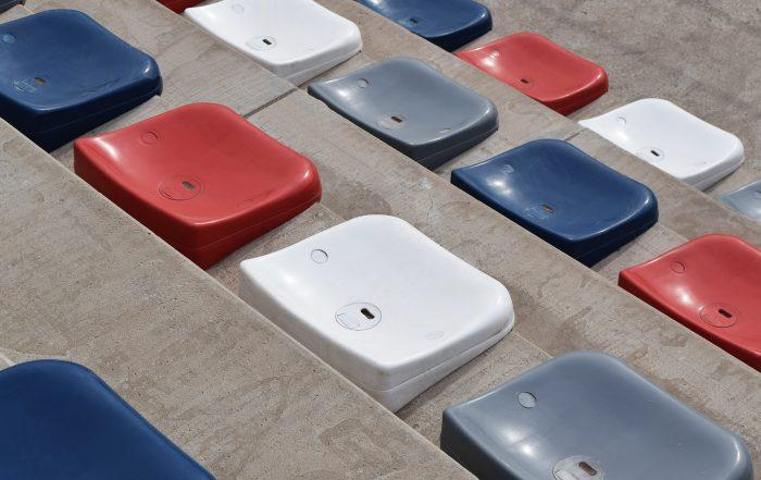 Patinodromo Rosario Asientos para tribunas