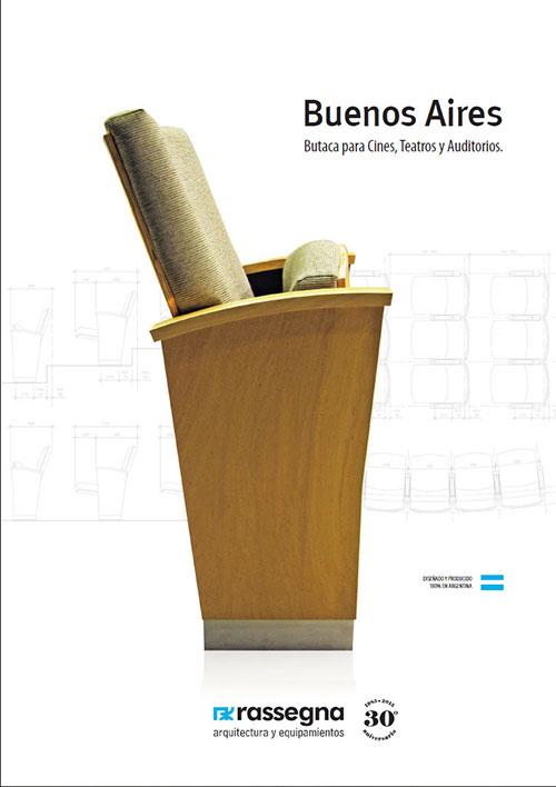 Butaca para Auditorios modelo Buenos Aires