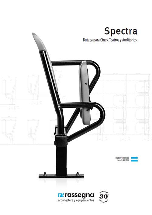 Butaca para auditorios modelo Spectra