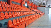 asientos para Estadios, asientos para Tribunas, asientos para Polideportivos, asientos para Anfiteatros, asiento modelo PL7, Polideportivo CILSA, Centro de Integración Libre y Solidario de Argentina,
