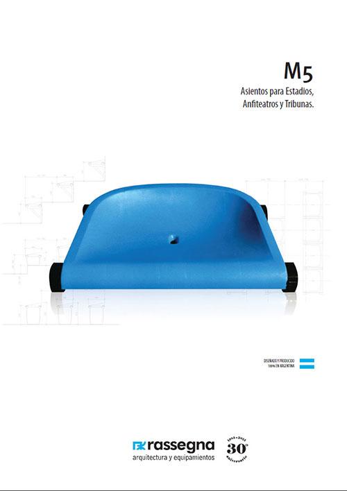 Asiento para Estadios modelo M5
