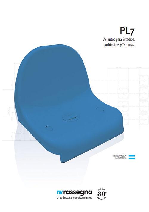 Asiento para Estadios modelo PL7