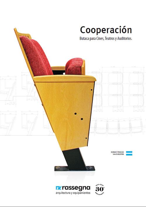 Banco para Auditorios modelo Cooperación