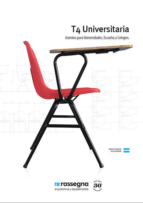 Silla Universitaria modelo T4