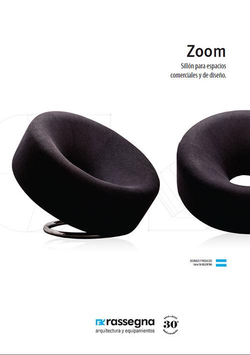 Silló modelo Zoom para oficinas y otros espacios