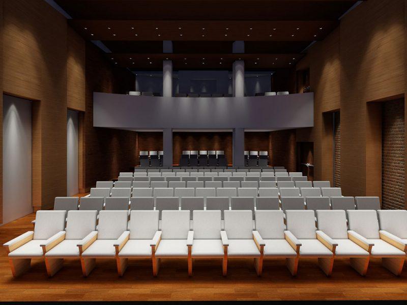 Auditorio colegio de abogados de Bahía Blanca.