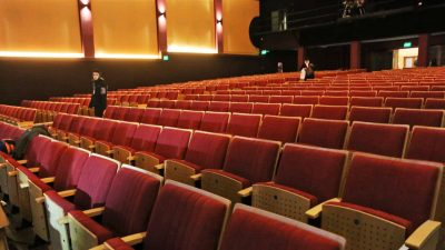 Antonio Lafalla cine teatro butacas