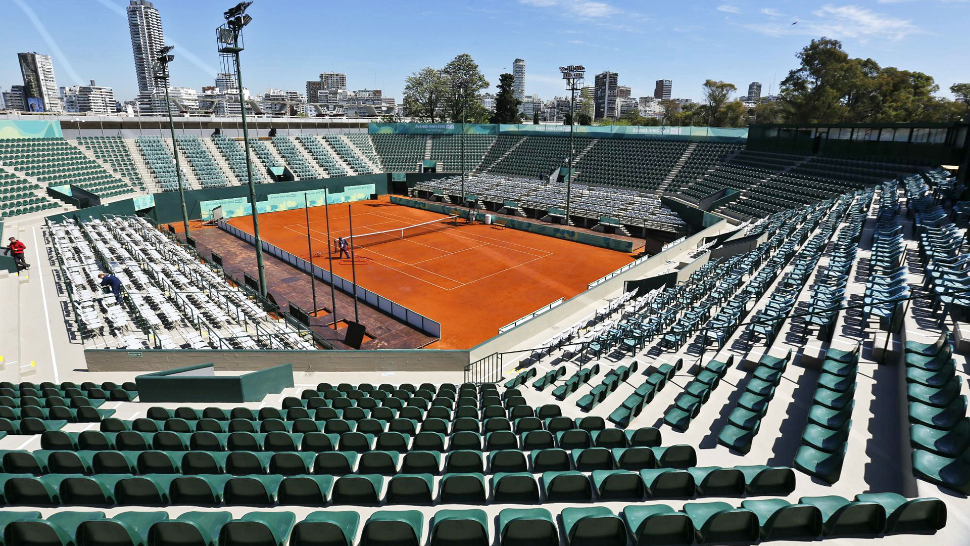 Lawn Tennis asientos estadio