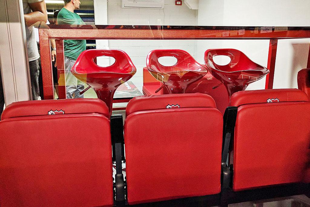 sistema asientos para estadios
