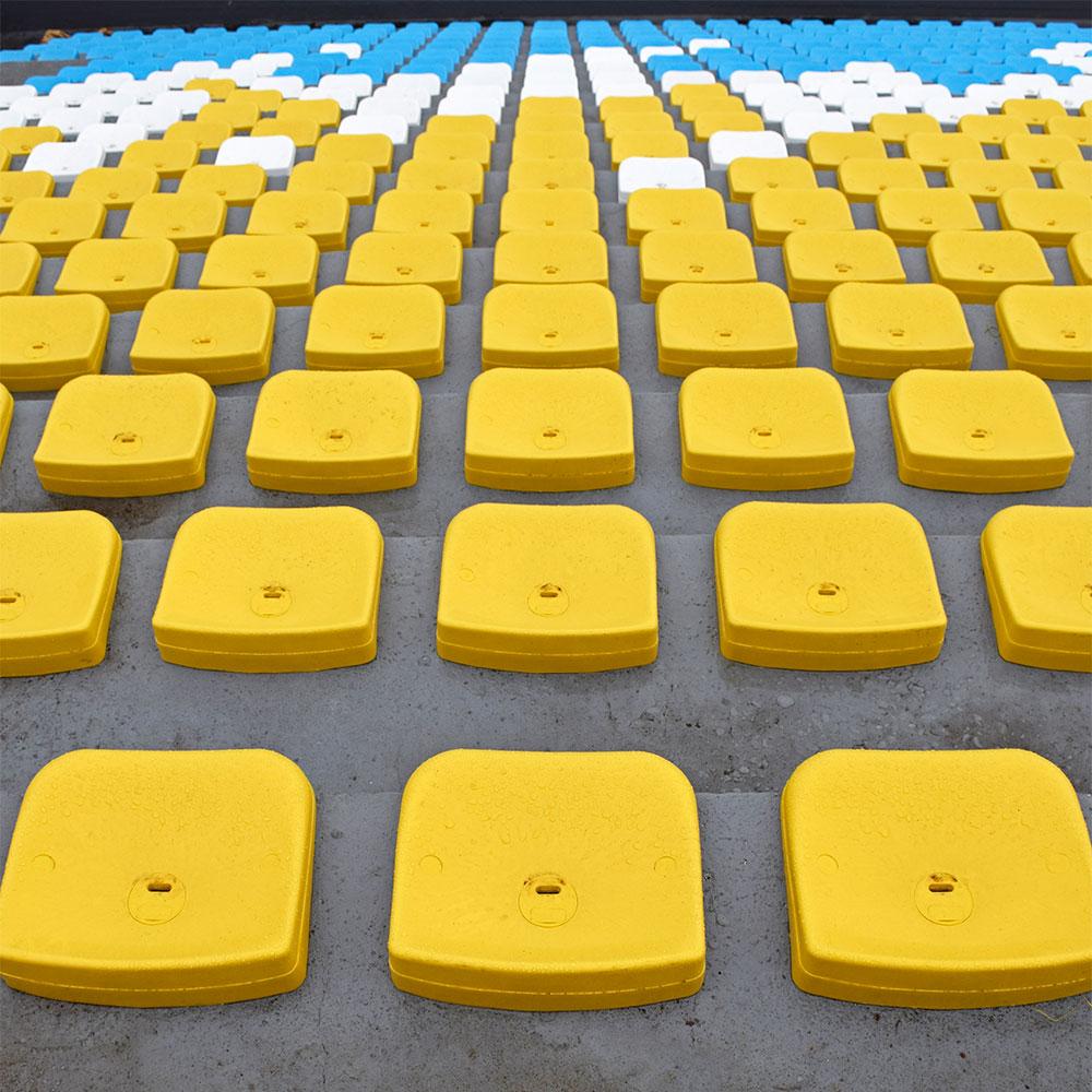 asiento estadios sin respaldo modelo p6 en autodromo